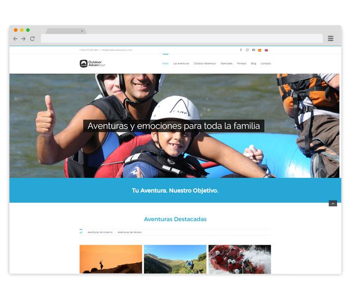 diseno-pagina-web-empresa-viajes-aventura-en-el-pirineo