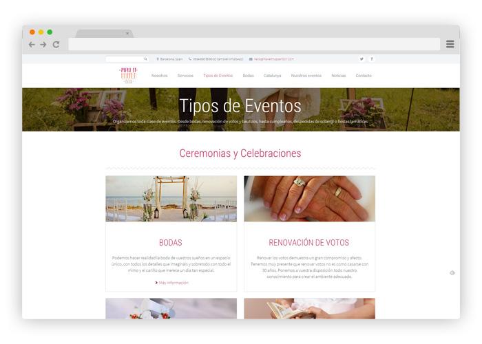 diseno-página-web-organización-de-eventos-y-bodas