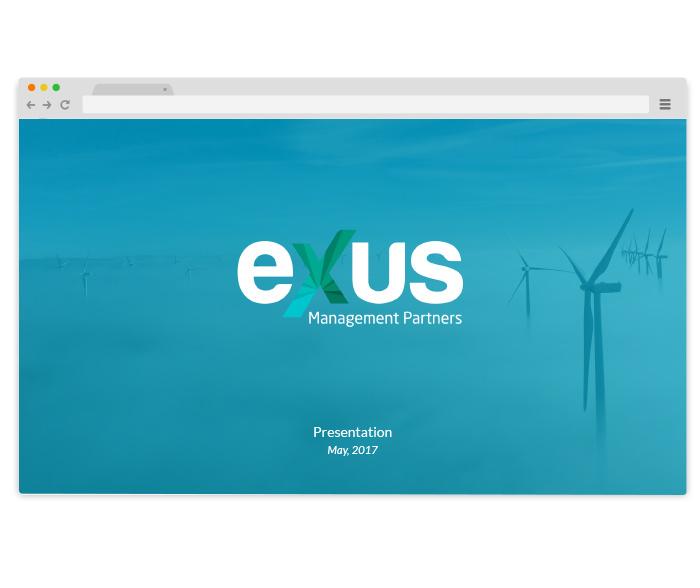 presentación power point para empresa inversiones diseño gráfico y web